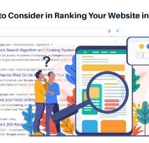 Factors to consider in ranking your website in google