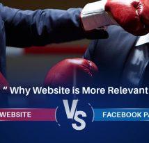 Website Vs Facebook page